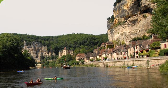 Faire du canoë entre Lot et Dordogne