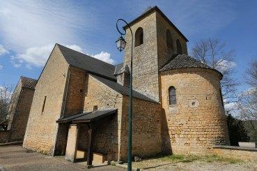 Eglise St Georges à St Cirq Madelon ©Serge Briez