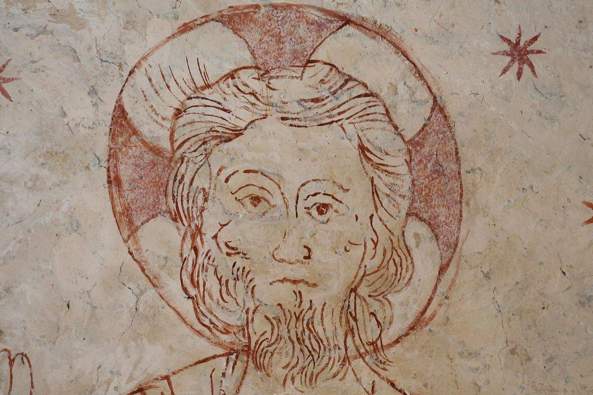 Le Christ en majesté plafond du choeur ©Serge Briez