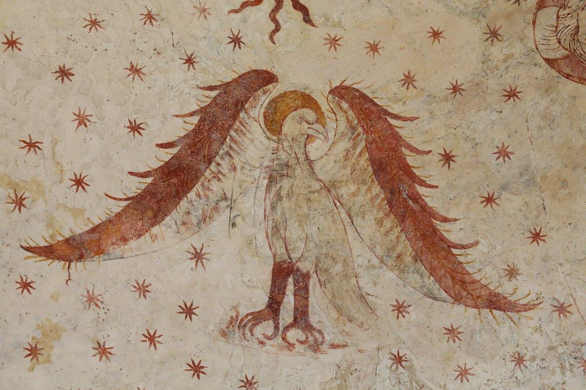 Allégorie de Saint Jean, l'aigle ©Serge Briez