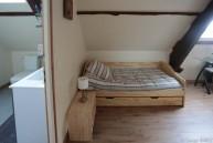 Chambre Dordogne : lit gigogne.